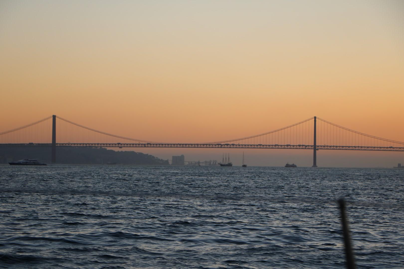 Rio Tejo Lissabon